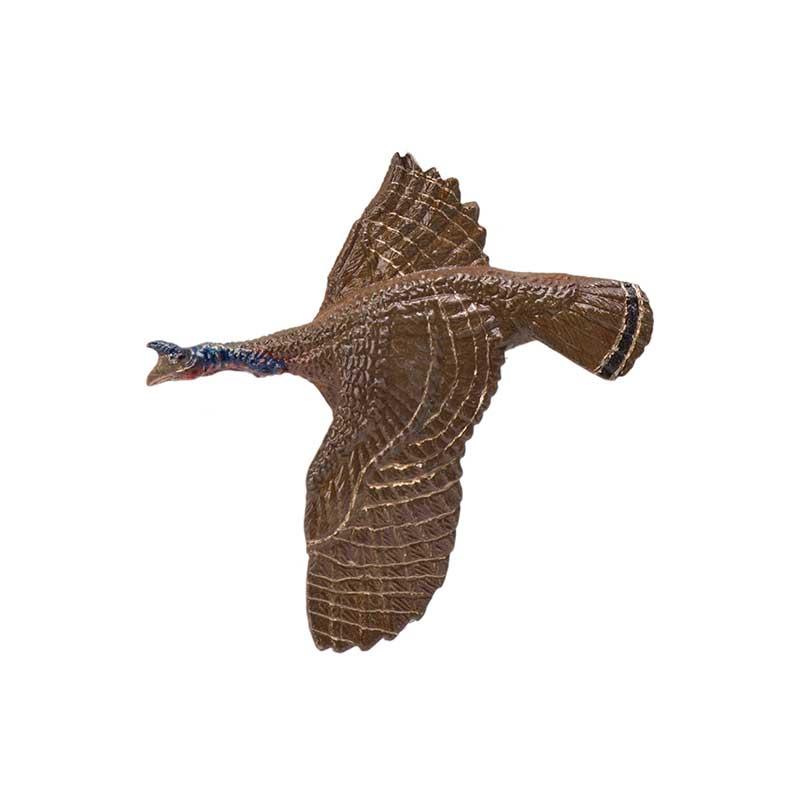 Wild Turkey Pin, Bronze