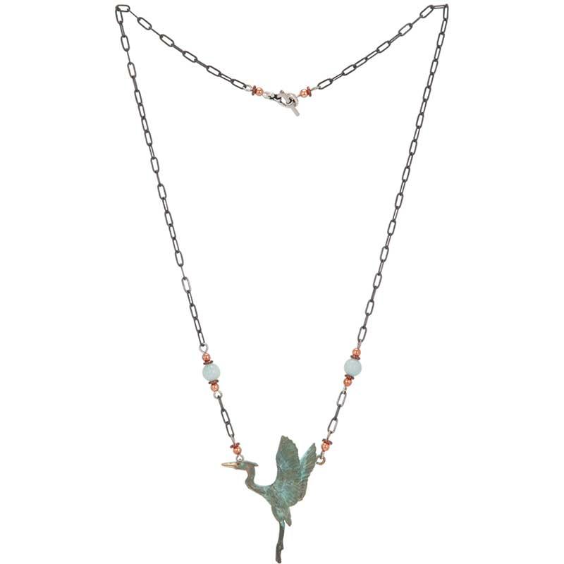 Heron Rising Necklace