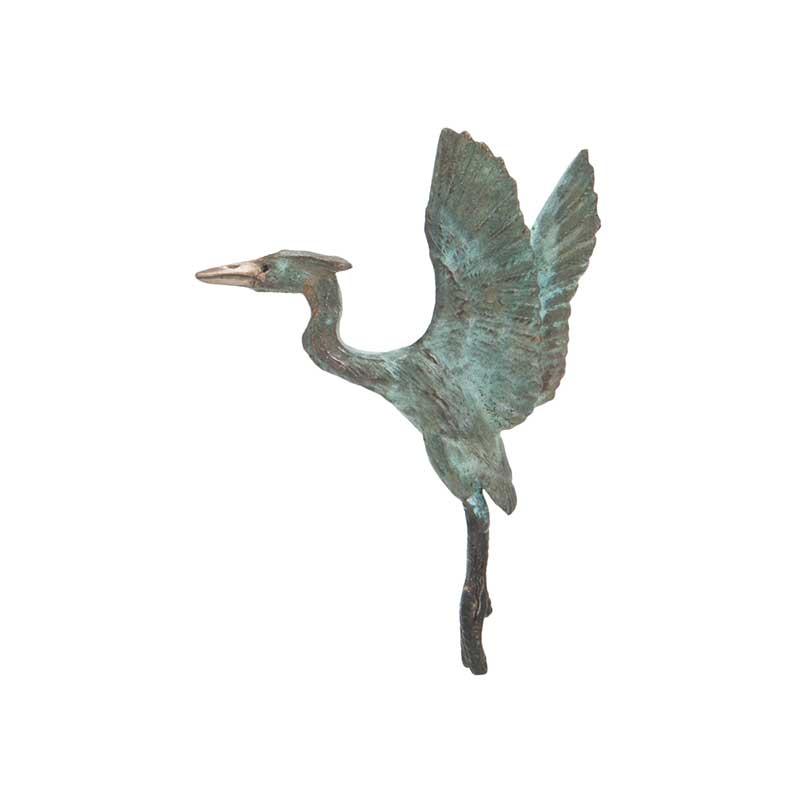 Heron Rising Pin