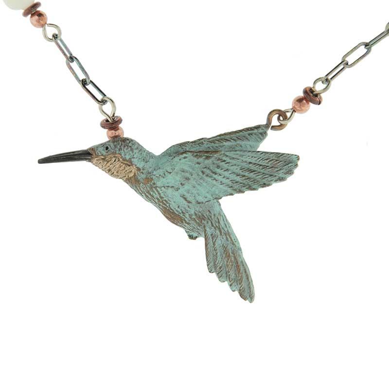 Hummingbird Necklace by Cavin Richie