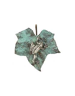 Silver Tree Frog Pin