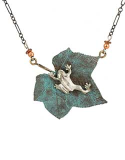 Silver Tree Frog Necklace