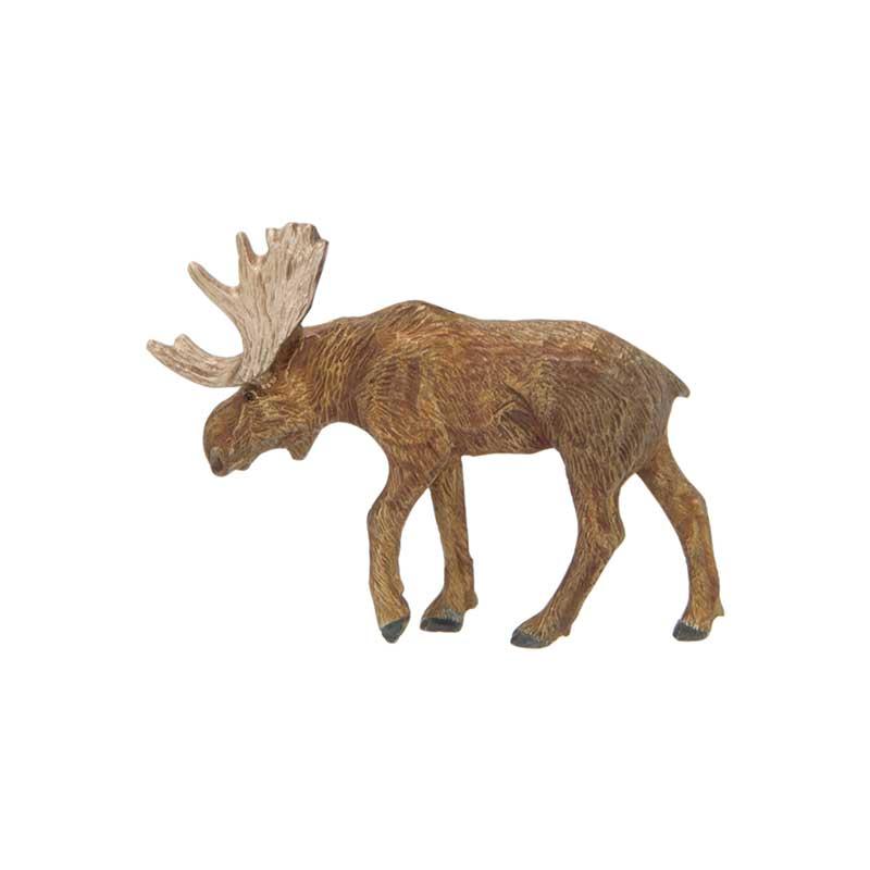 Moose Pin, Bronze