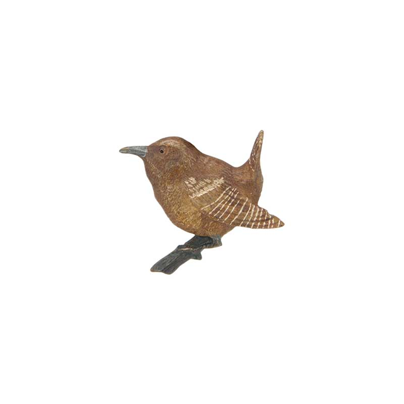 Wren Pin, Bronze