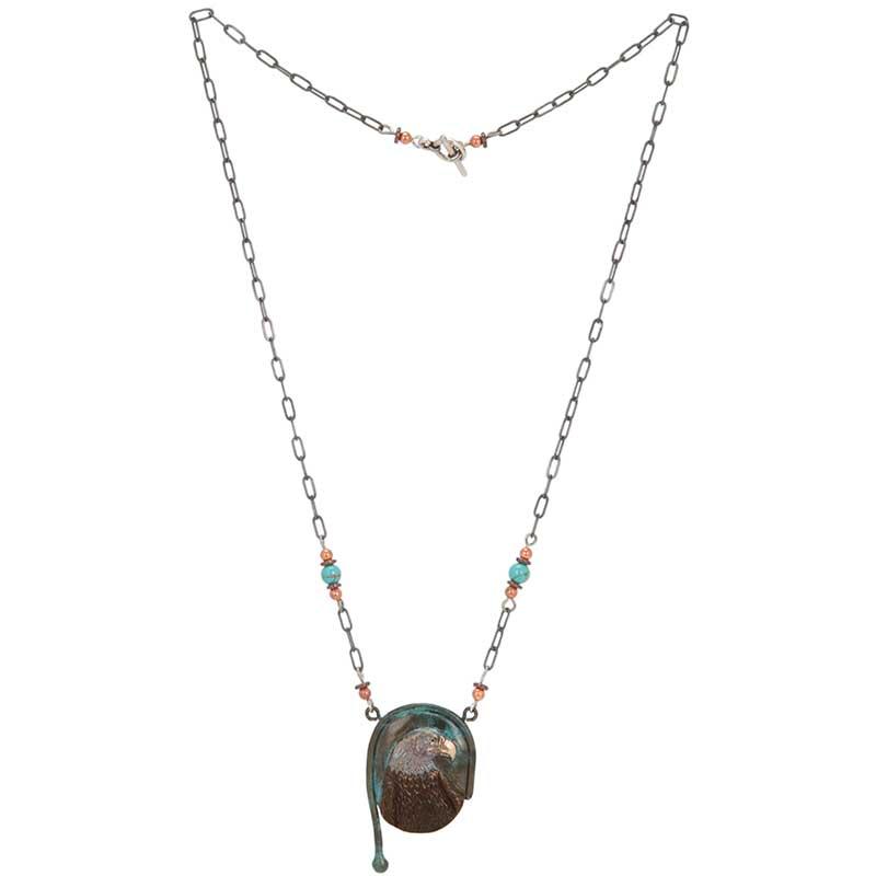 Eagle, Bas Relief Necklace