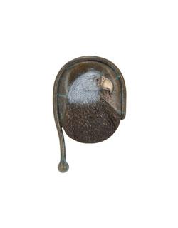 Eagle, Bas Relief Pin