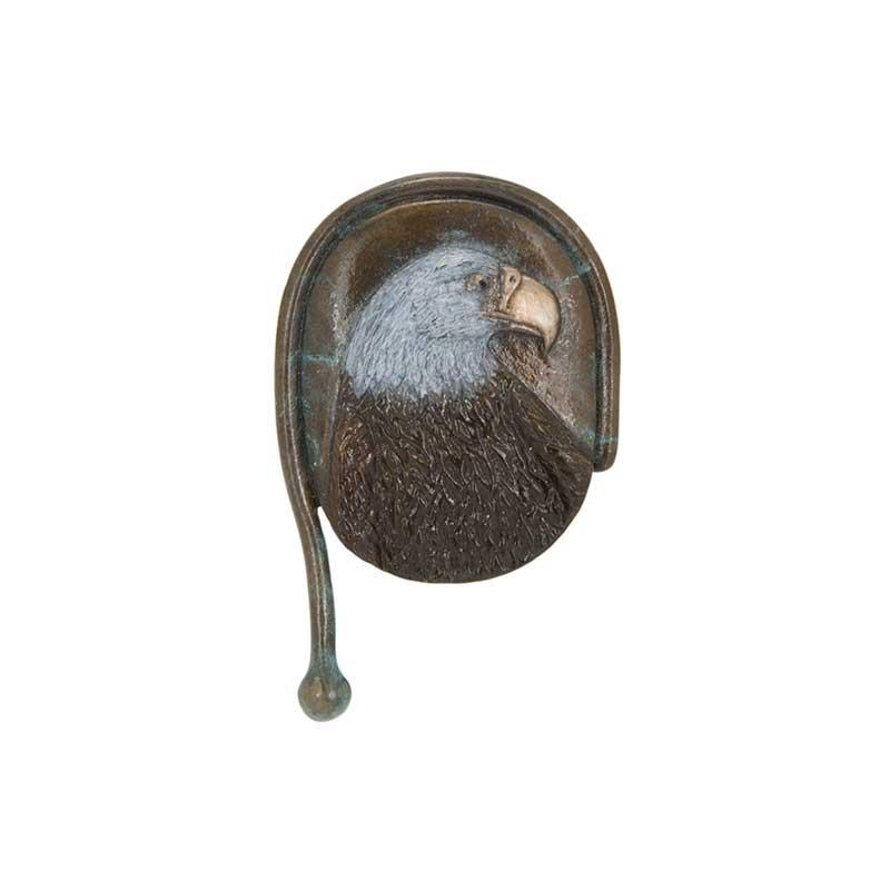 Eagle, Bas Relief Pin, Bronze