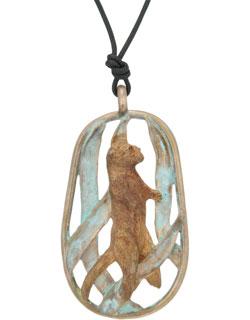 Otter in Kelp Pendant