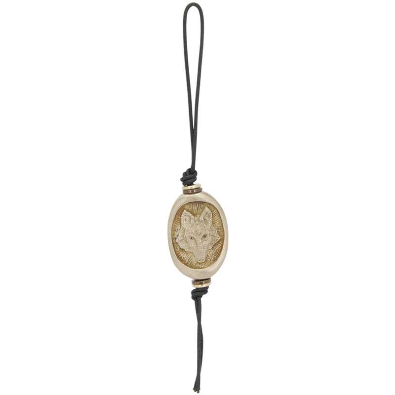 Wolf Amulet Zipper Pull