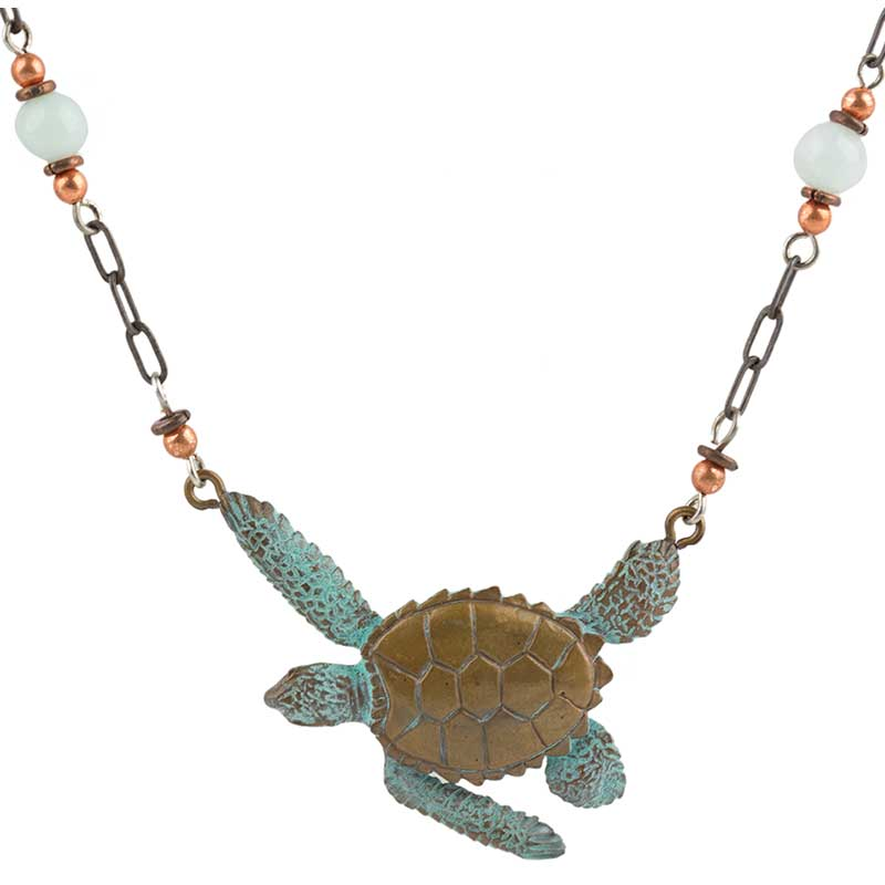 Sea Turtle Necklace by Cavin Richie