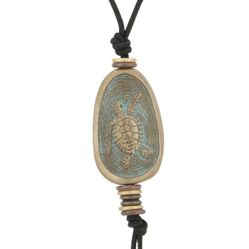 Sea Turtle Amulet by Cavin Richie