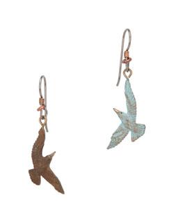 Tern  Earrings, Fishhook