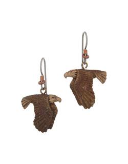 Flying Eagle Earrings