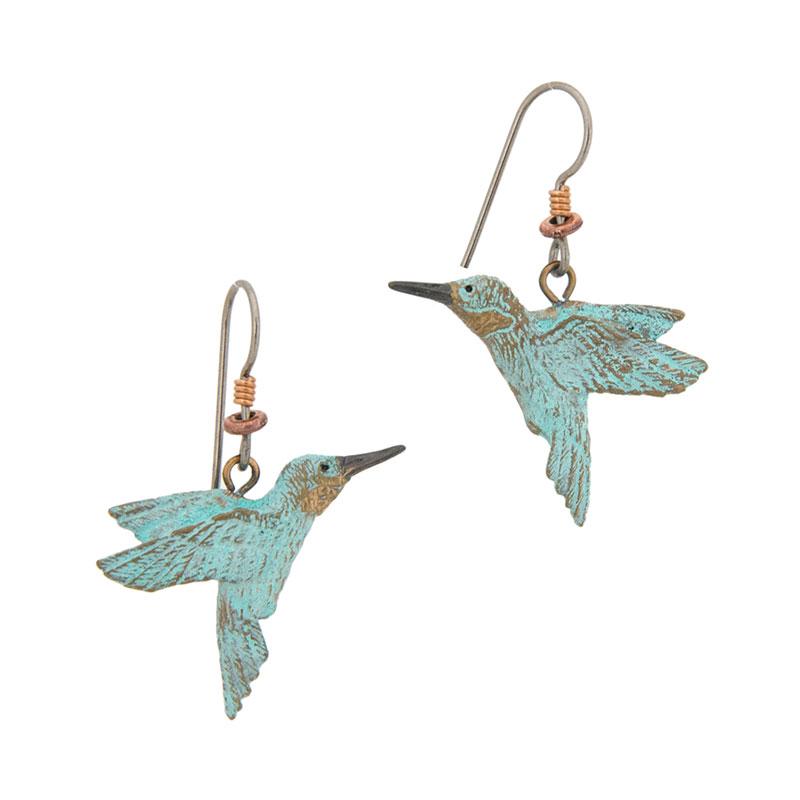Hummingbird Earrings by Cavin Richie