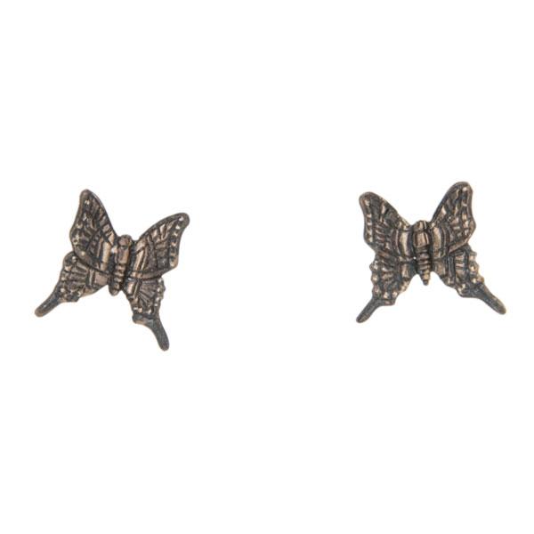 Swallowtail Butterfly Earrings, Post