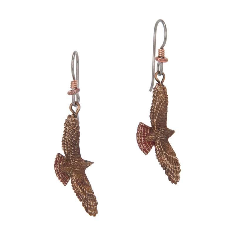 Red-tailed Hawk Earrings