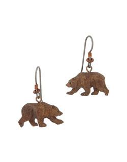 Grizzly Bear Earrings
