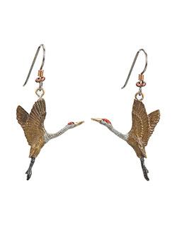 Crane Rising Earrings