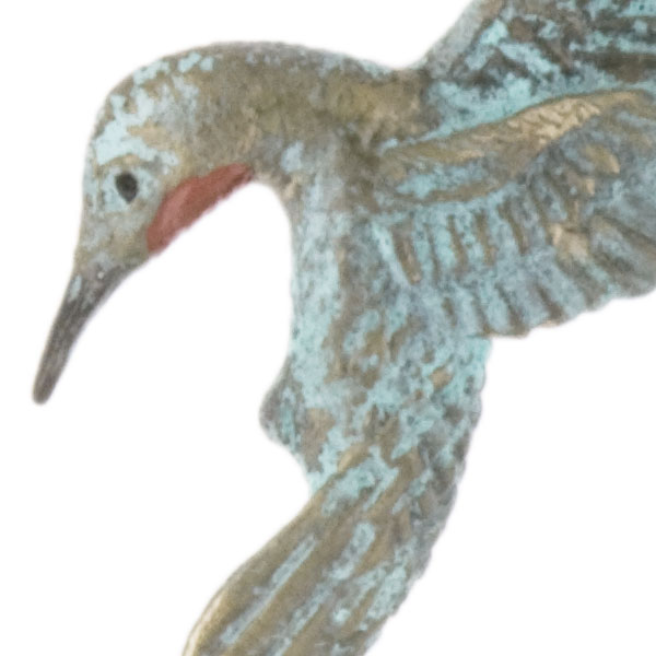 Hummingbird Heart Earrings by Cavin Richie