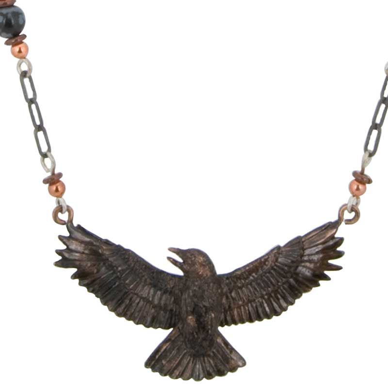 Crow Necklace by Cavin Richie