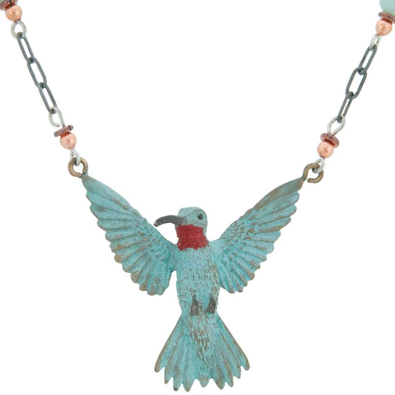 3-D Hummingbird Necklace by Cavin Richie