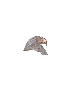 Small Bald Eagle Head Pin