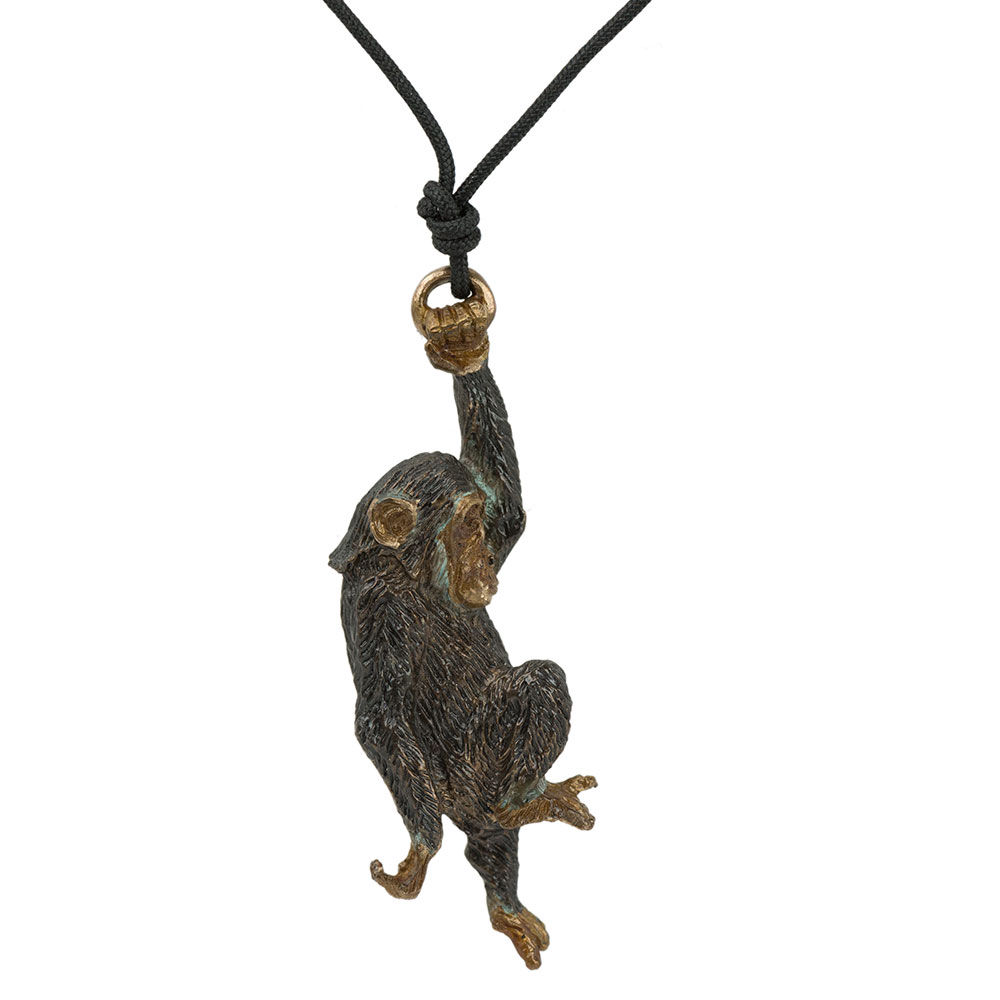 Swinging Chimp Pendant