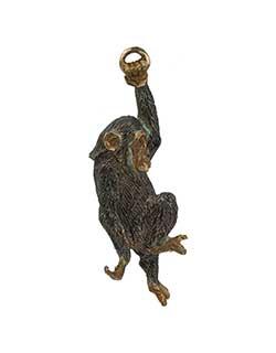 Swinging Chimp Pin