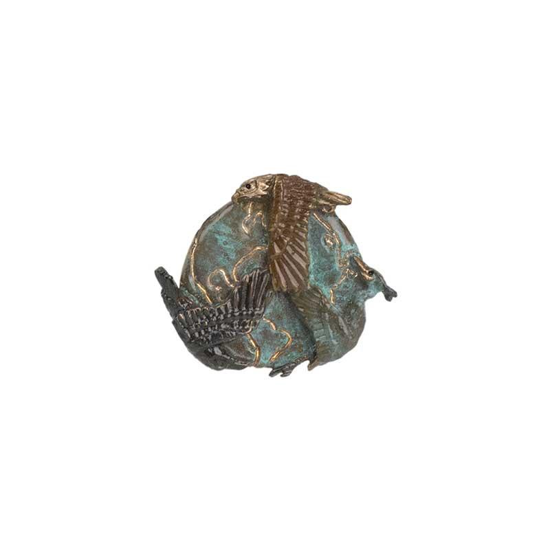 Peace Globe Pin