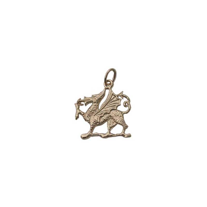 Welsh Dragon Necklet, 14 kt. Gold