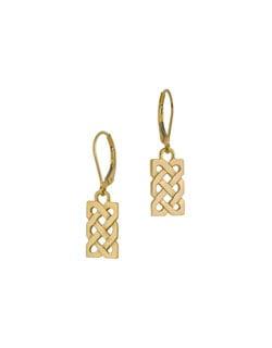 Sailor's Knot Earrings, 14 kt. Gold