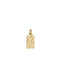 Sailor's Knot Necklet, 14 kt. Gold
