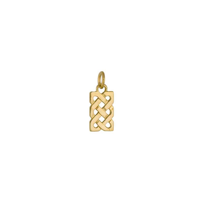 Celtic Sailor's Knot Necklet, 14 kt. Gold