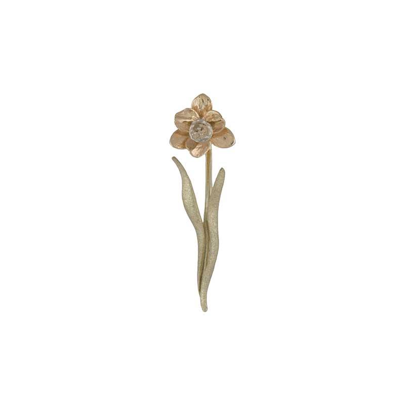 Tenby Daffodil Necklet, 14 kt. Gold
