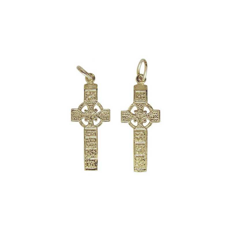 Gold Muiredach's Cross, Both Sides