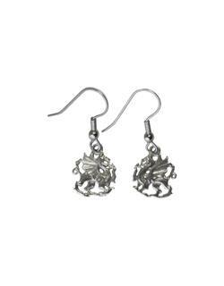 Dragon Earrings, Fishhook