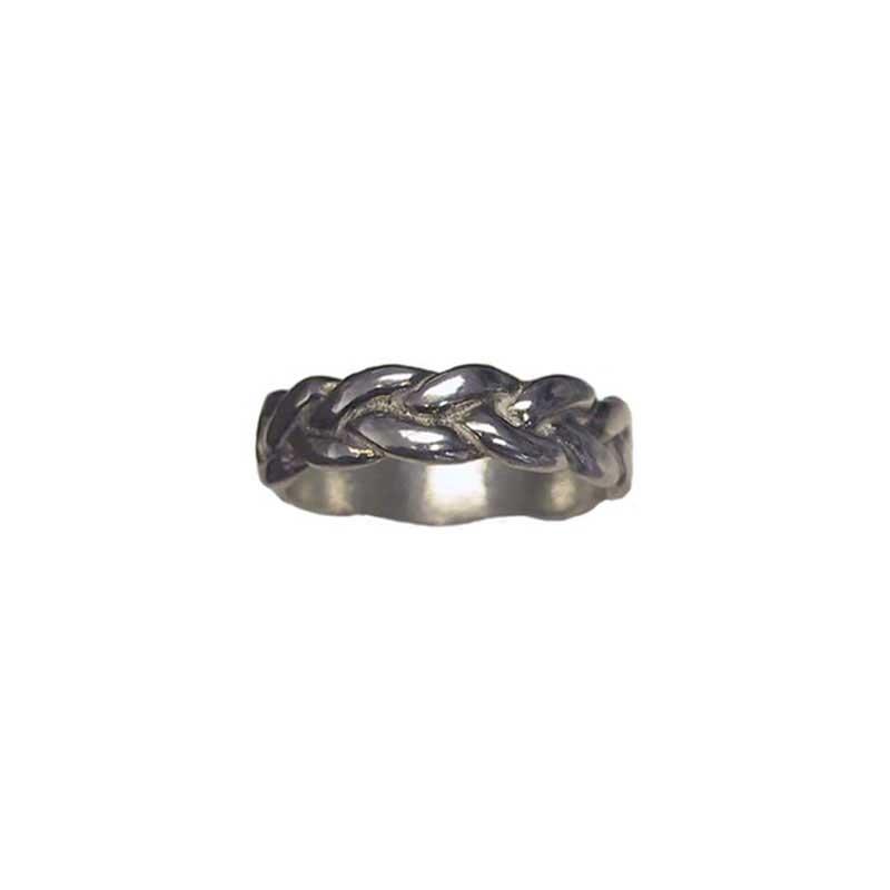 Sterling Silver Trinity Ring