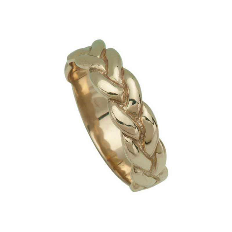 Gold Trinity Ring, Yellow Gold