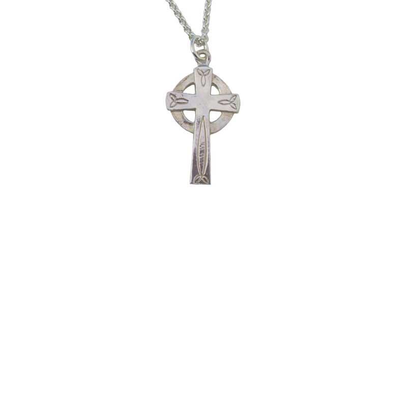 Trinity Cross Necklet