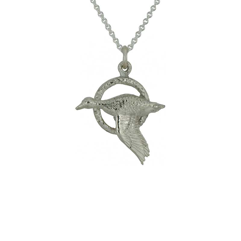 Taith Pendant, Sterling Silver