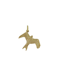Gold Barcud (Red Kite) Pendant
