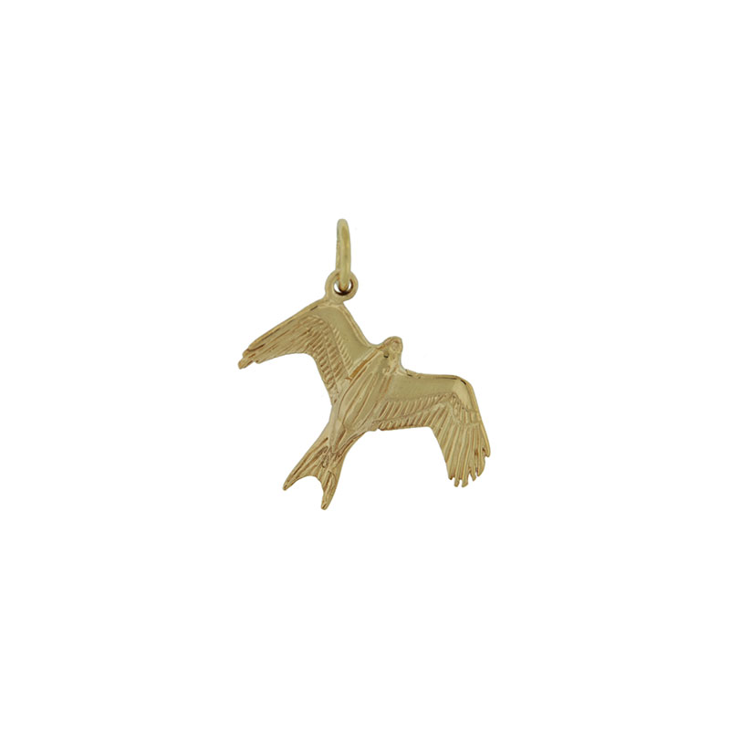 Gold Barcud Pendant