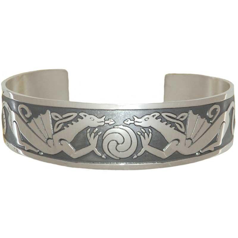 Dragon Bracelet, Sterling silver