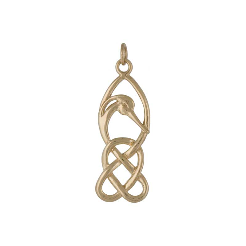 Gold Creyr Pendant