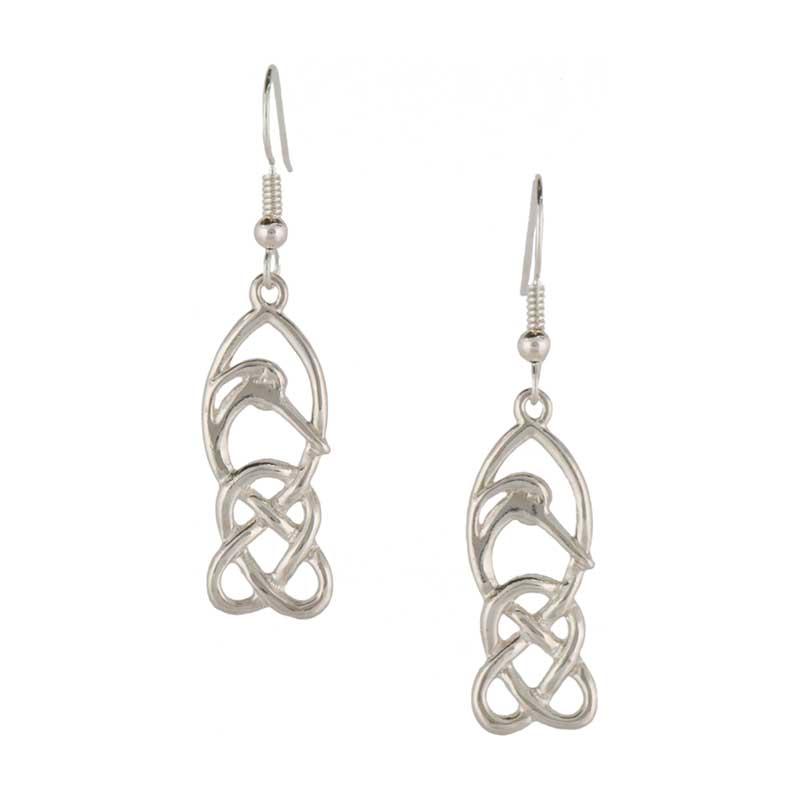 Creyr Earrings, Sterling silver