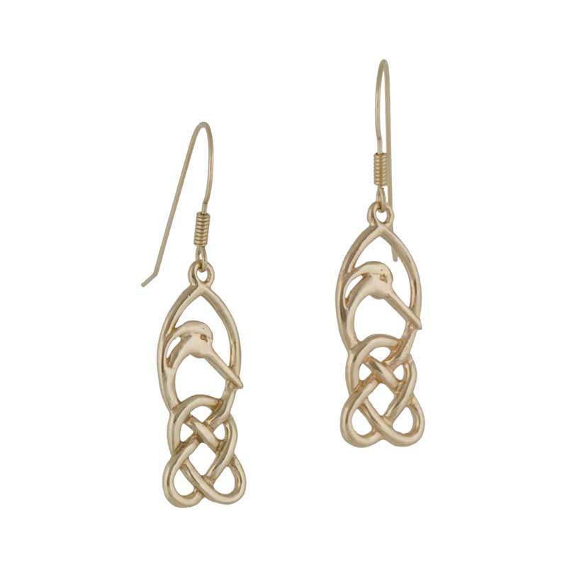Gold Creyr Earrings
