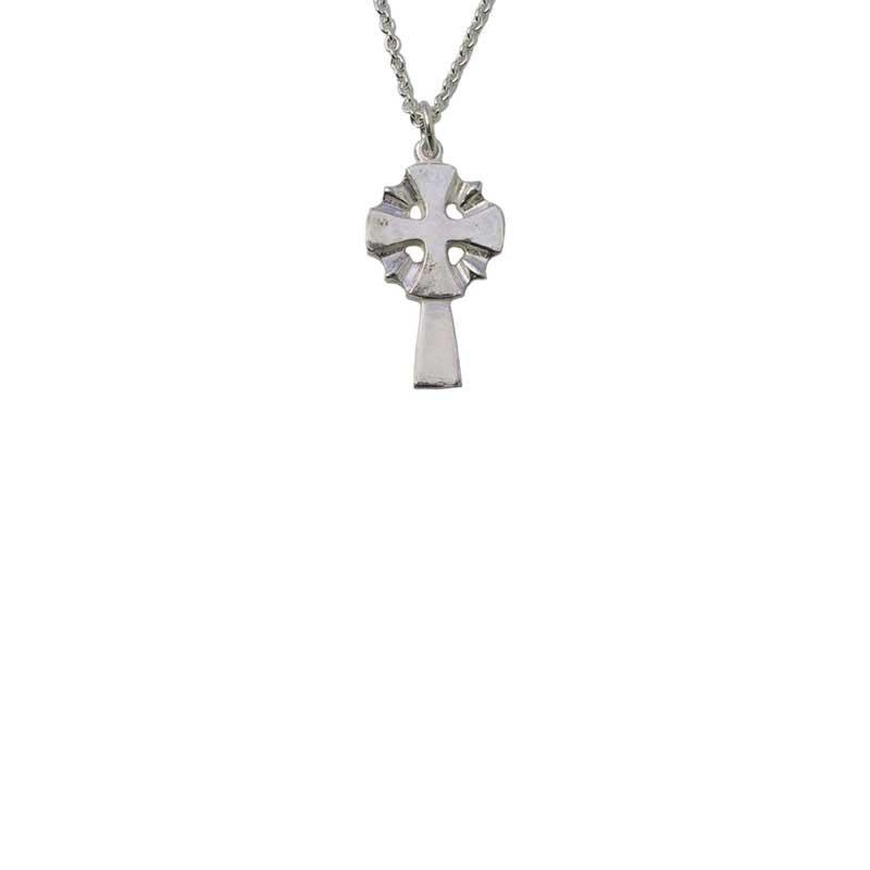 Nevern Cross Pendant, Sterling Silver
