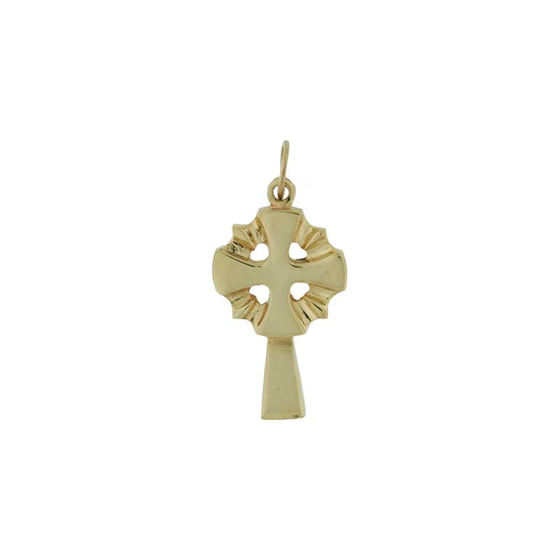 Gold Nevern Cross
