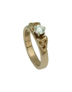 Triskele Anniversary Ring