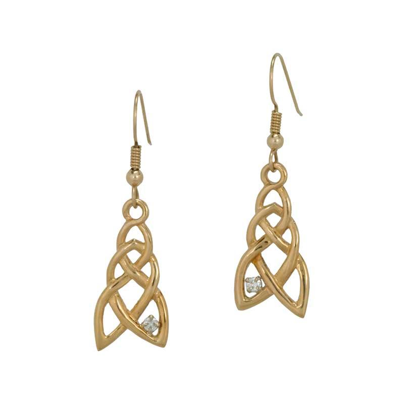 Tlws Olwen Earrings, 14 kt. Gold
